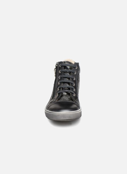 Baskets Bopy Soliho Gris vue portées chaussures