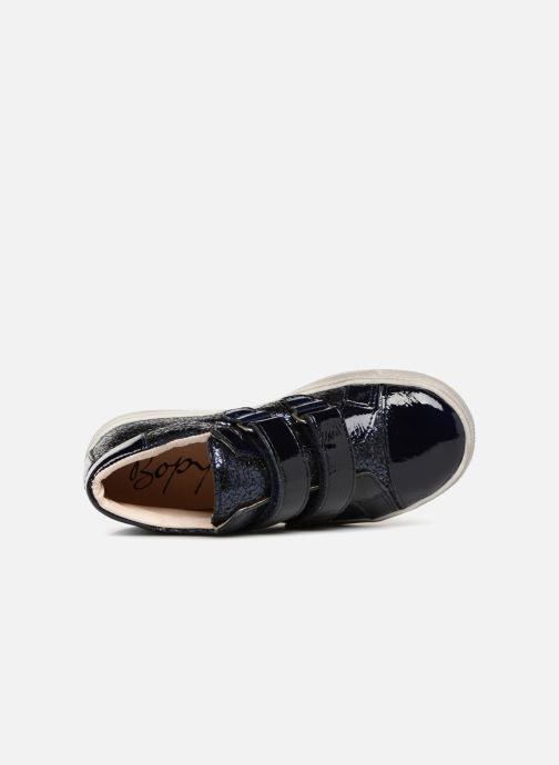 Sneakers Bopy Sondinel Blauw links