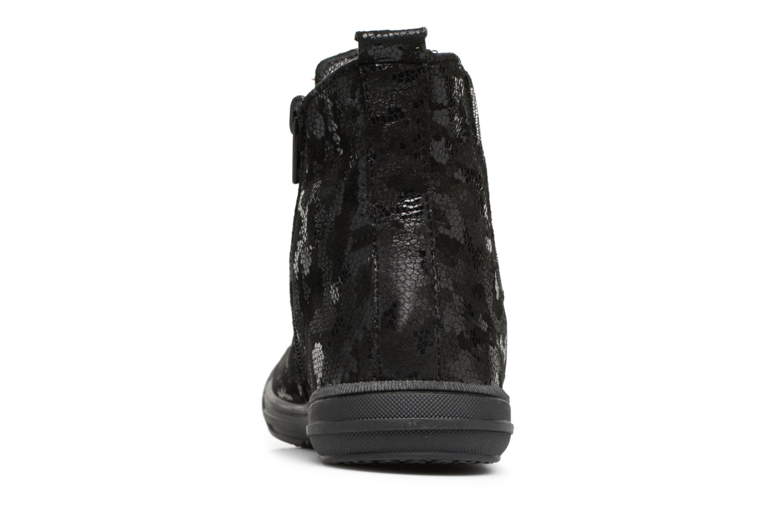 Ankle boots Bopy Samoufa Black view from the right