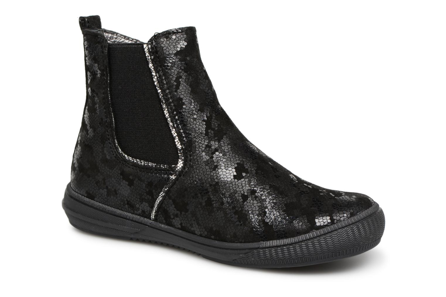 Ankle boots Bopy Samoufa Black detailed view/ Pair view