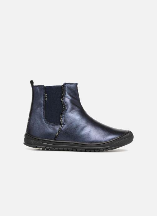 Ankle boots Bopy Sierra Blue back view