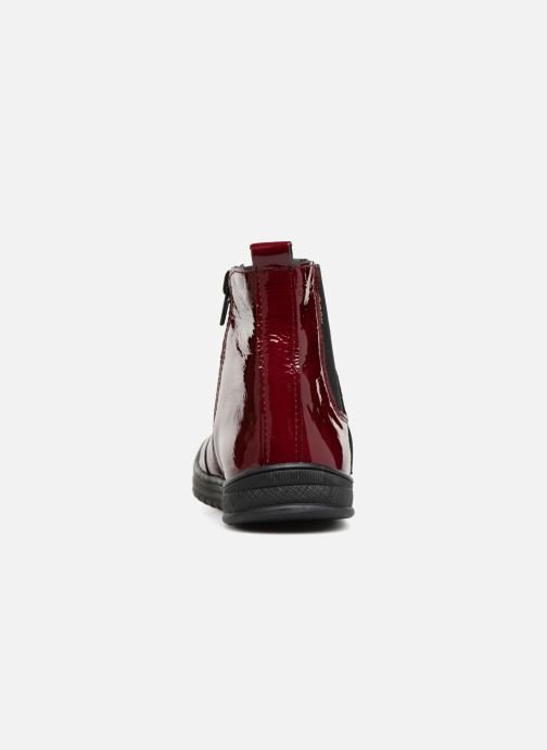 Ankle boots Bopy Sierra Burgundy view from the right