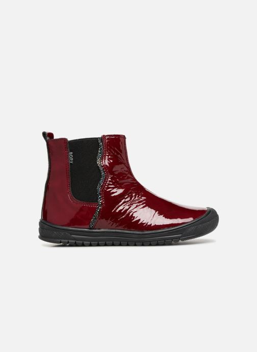Ankle boots Bopy Sierra Burgundy back view