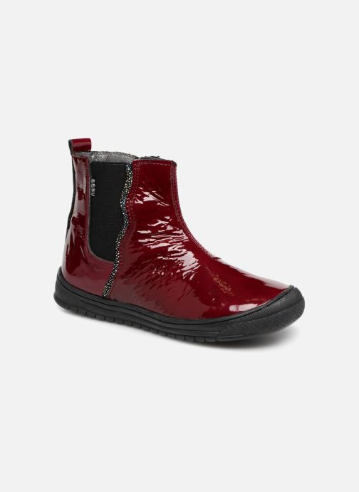 Ankle boots Bopy Sierra Burgundy detailed view/ Pair view
