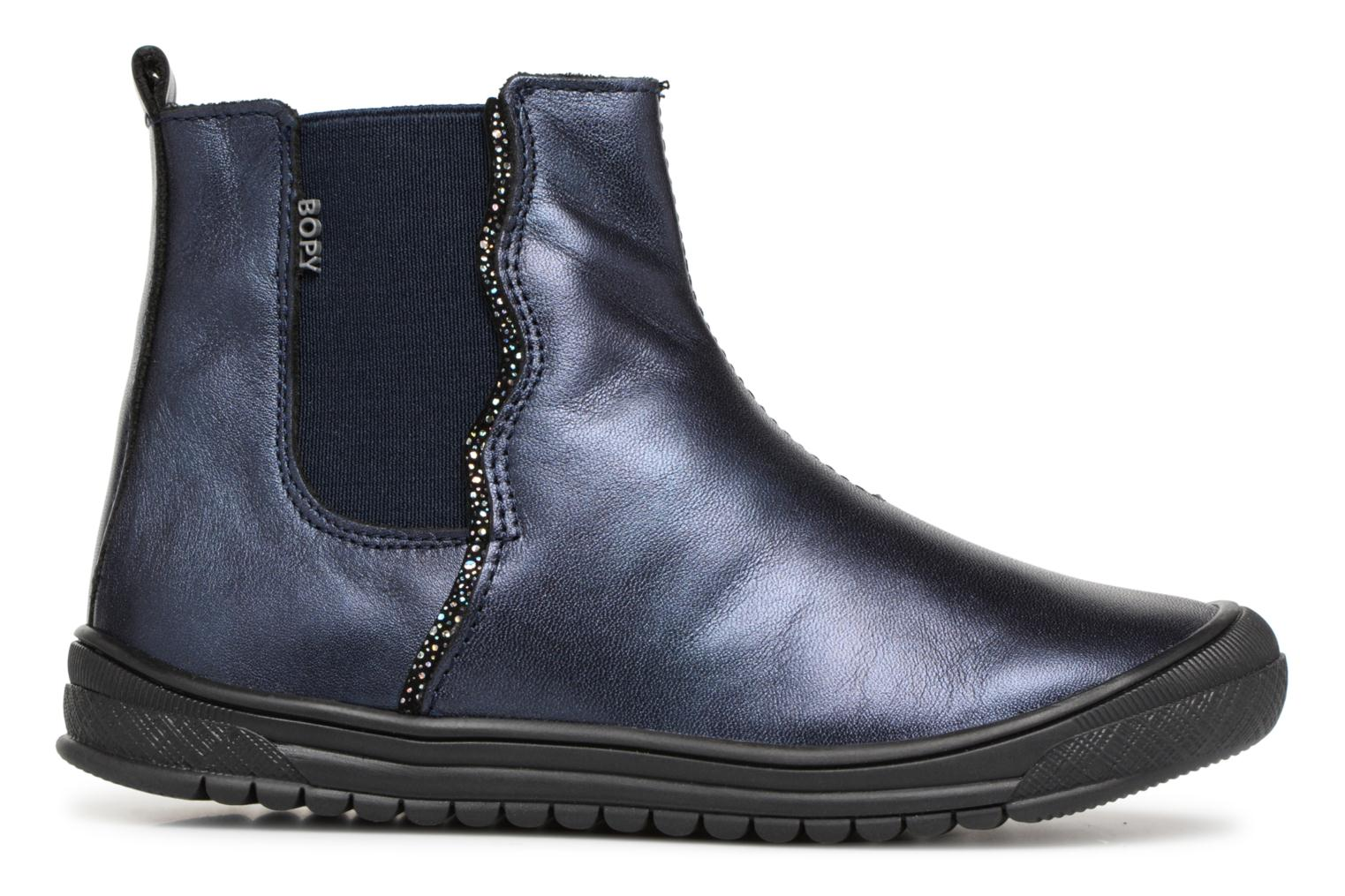 Ankle boots Bopy Sierra Blue back view