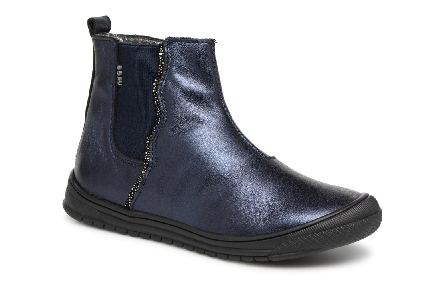 Ankle boots Bopy Sierra Blue detailed view/ Pair view