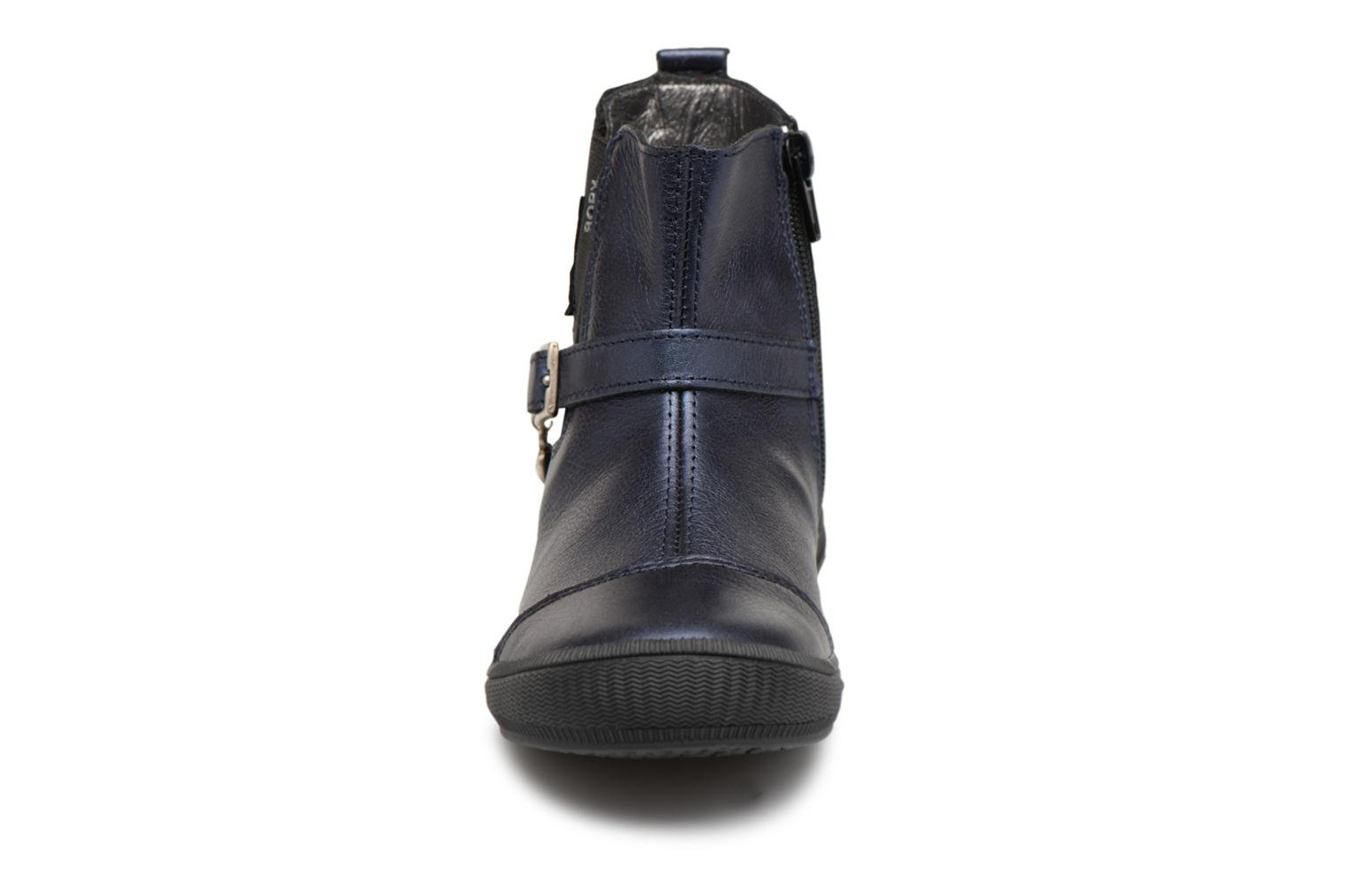 Ankle boots Bopy Soko Blue model view