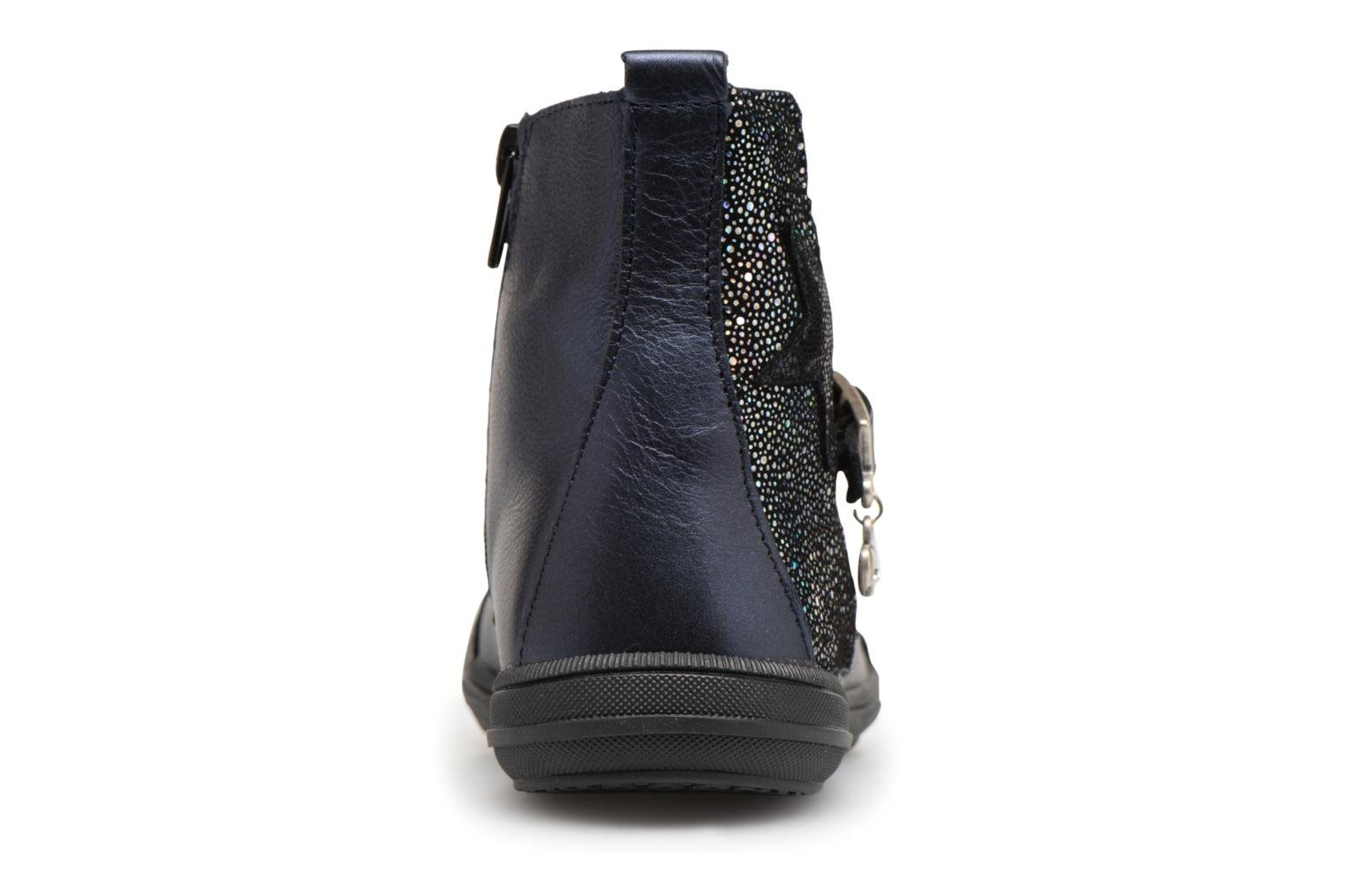 Ankle boots Bopy Soko Blue view from the right