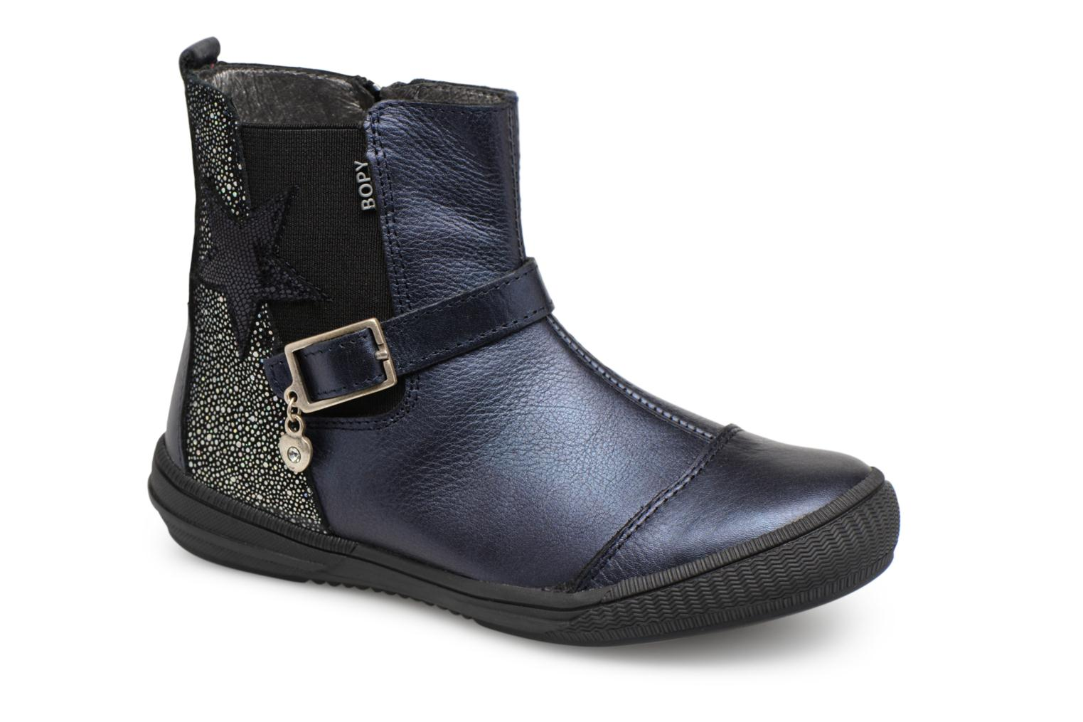 Ankle boots Bopy Soko Blue detailed view/ Pair view