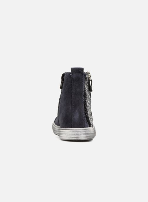 Ankle boots Bopy Sidji Blue view from the right