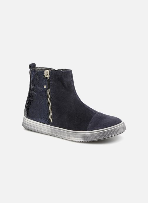 Ankle boots Bopy Sidji Blue detailed view/ Pair view