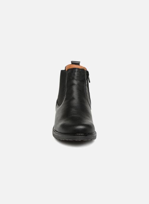 Bottines et boots Bopy Soana Noir vue portées chaussures