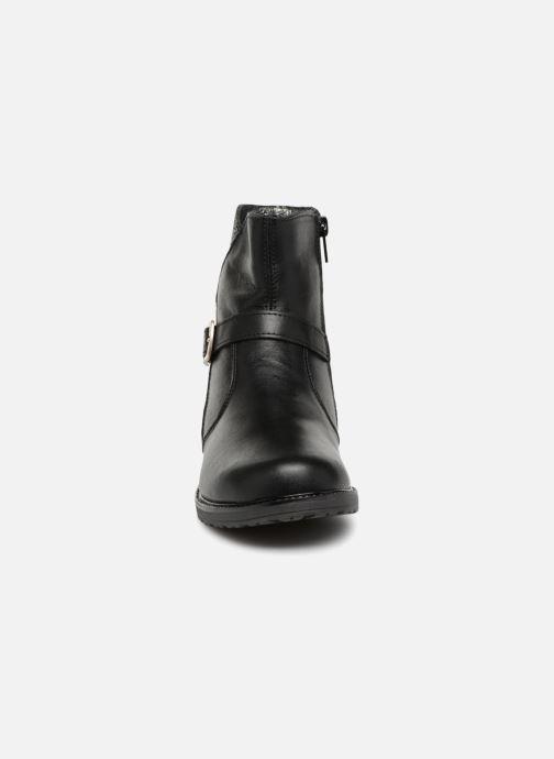 Bottes Bopy Silia Noir vue portées chaussures