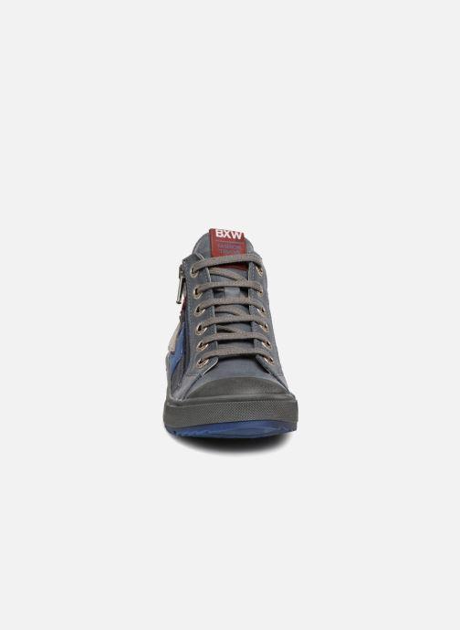 Baskets Bopy Vilfrid Bleu vue portées chaussures