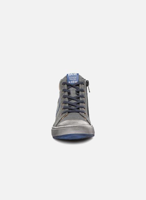 Baskets Bopy Valedo Gris vue portées chaussures