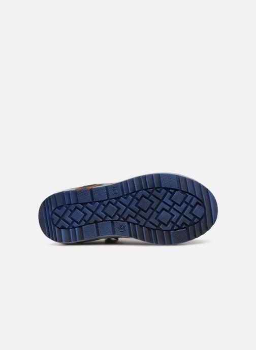 Baskets Bopy Valter Bleu vue haut