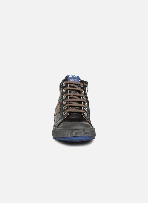 Baskets Bopy Valter Noir vue portées chaussures