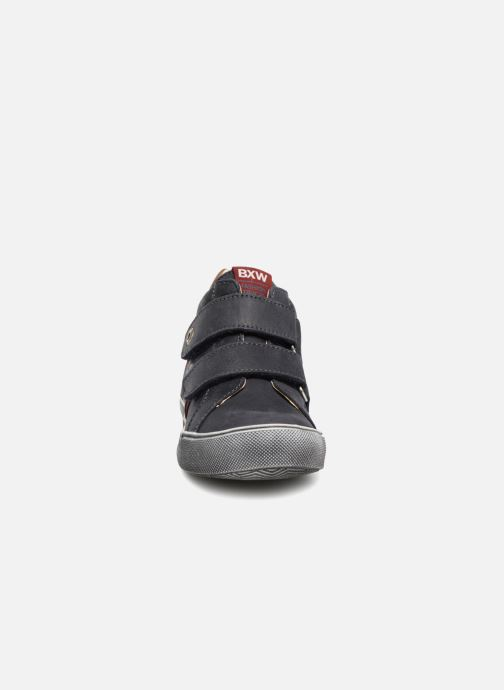Baskets Bopy Varuvel Bleu vue portées chaussures