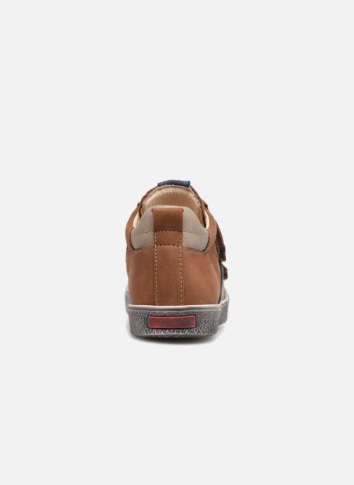 Sneaker Bopy Varuvel braun ansicht von rechts