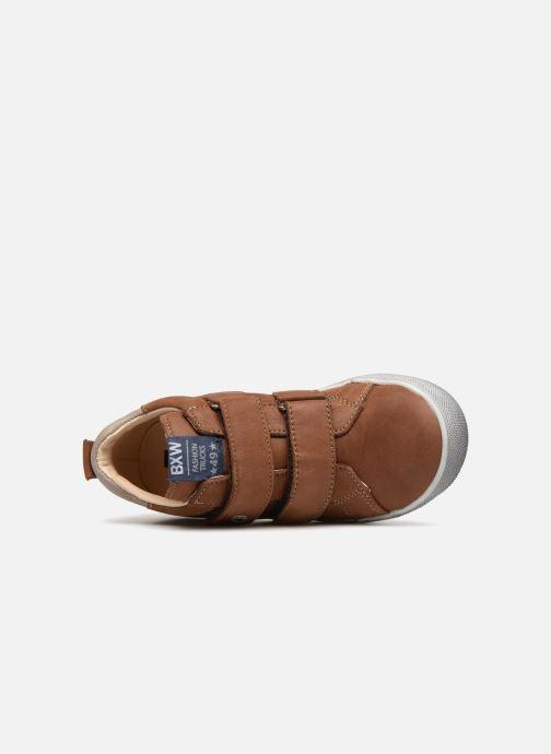 Sneaker Bopy Varuvel braun ansicht von links