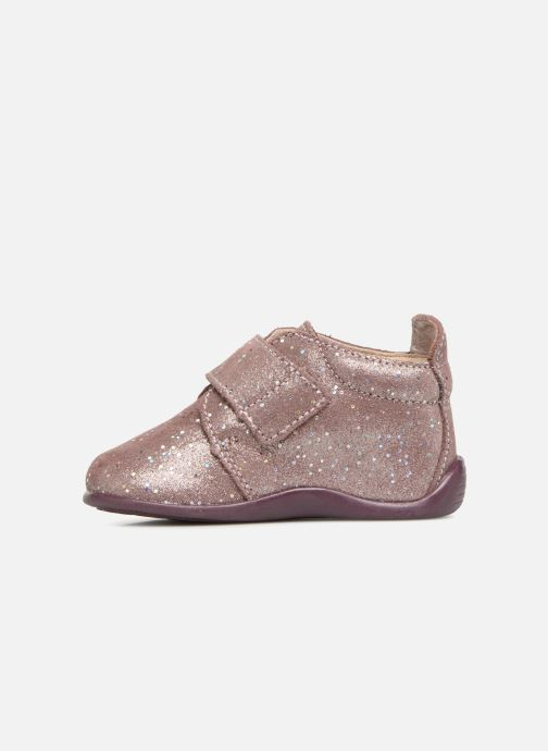 Chaussons Bopy Prudence Rose vue face