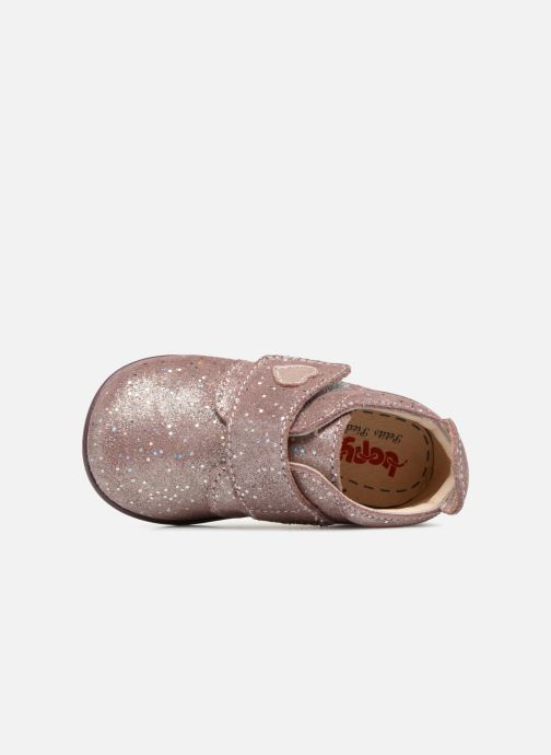 Chaussons Bopy Prudence Rose vue gauche