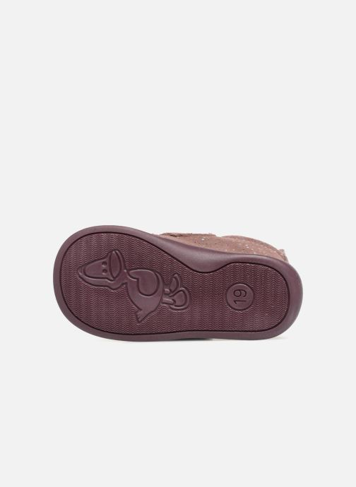 Chaussons Bopy Prudence Rose vue haut