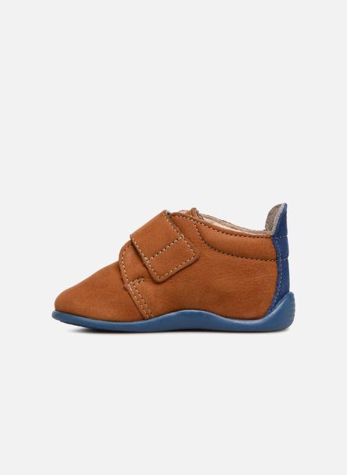 Pantofole Bopy Pavelo Marrone immagine frontale
