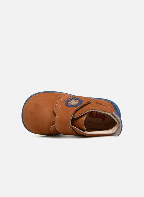 Pantofole Bopy Pavelo Marrone immagine sinistra