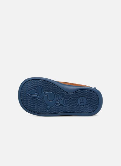 Pantofole Bopy Pavelo Marrone immagine dall'alto