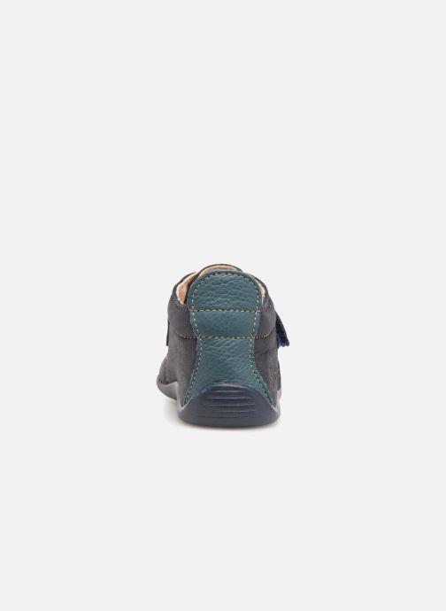 Pantofole Bopy Pavelo Azzurro immagine destra