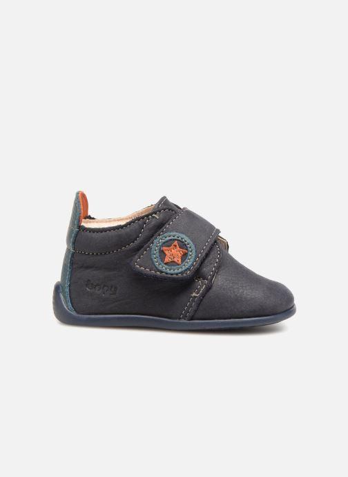 Pantofole Bopy Pavelo Azzurro immagine posteriore
