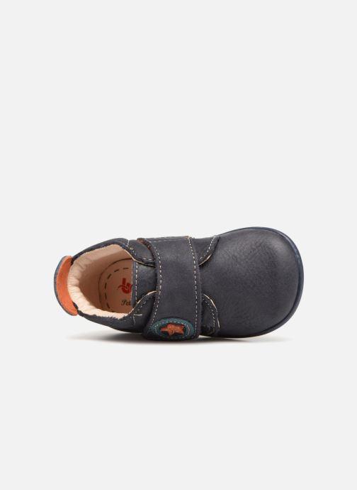 Pantofole Bopy Pavelo Azzurro immagine sinistra