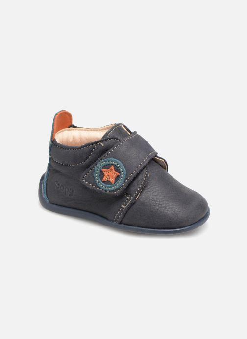 Pantoffels Bopy Pavelo Blauw detail