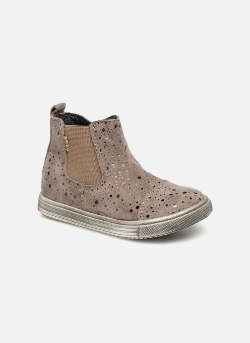 Ankle boots Bopy Boski Beige detailed view/ Pair view