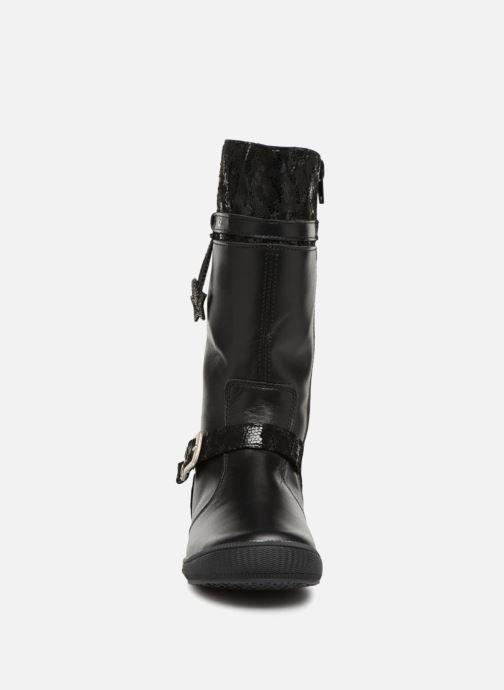 Bottes Bopy Sharona Noir vue portées chaussures