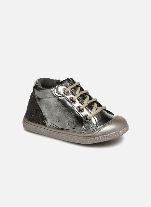 Ankle boots Bopy Nocrou Kouki Silver detailed view/ Pair view