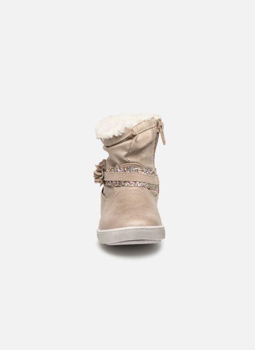 Bottines et boots Bopy Tanaela Kouki Beige vue portées chaussures