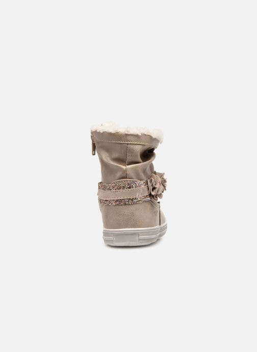 Ankle boots Bopy Tanaela Kouki Beige view from the right