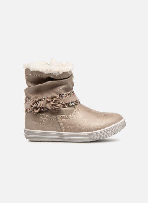 Boots en enkellaarsjes Bopy Tanaela Kouki Beige achterkant