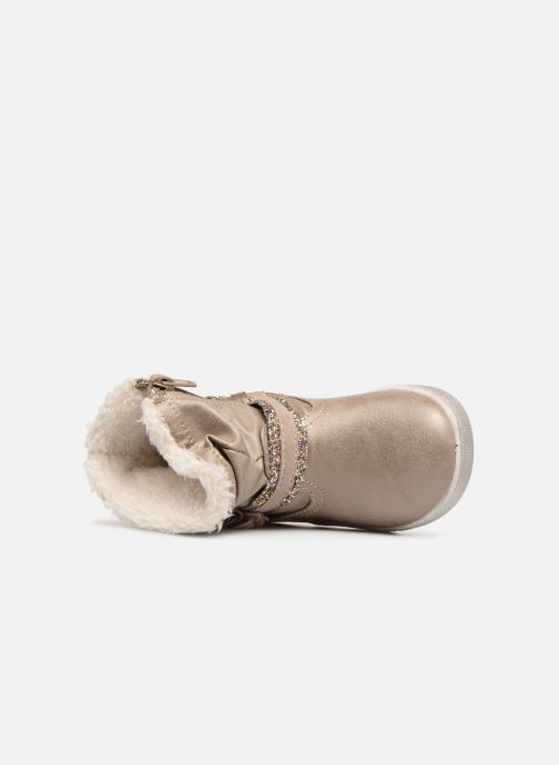 Bottines et boots Bopy Tanaela Kouki Beige vue gauche