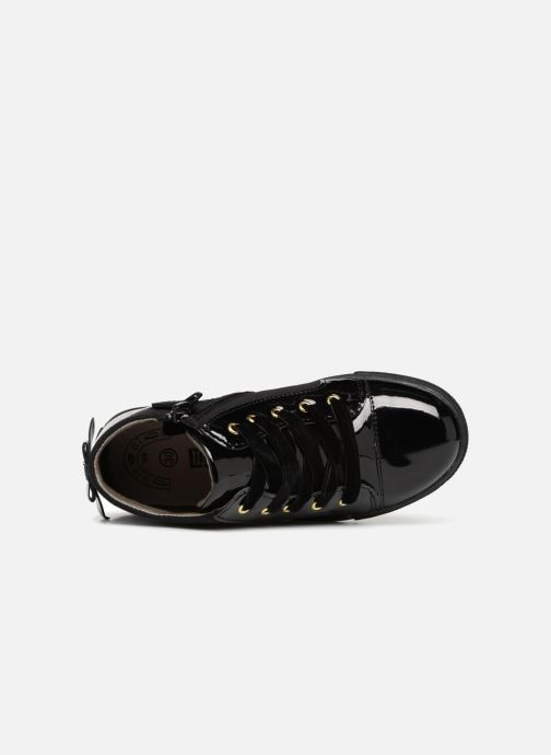 Trainers Bopy Nachiba Lilybellule Black view from the left