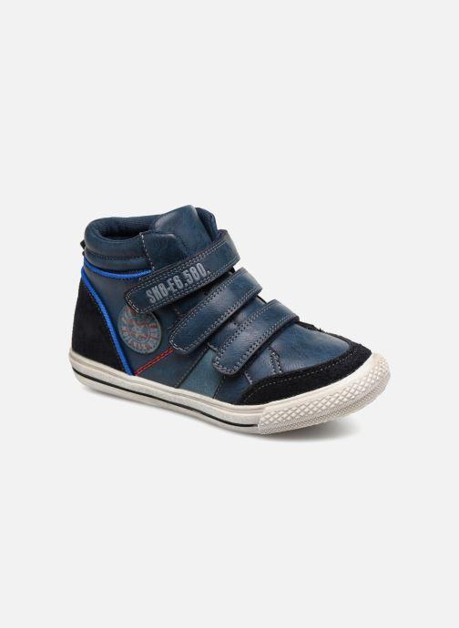 Baskets Bopy Iboki Sk8 Bleu vue détail/paire