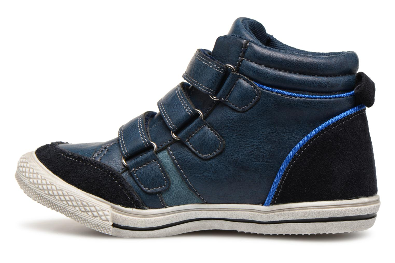 Sneaker Bopy Iboki Sk8 blau ansicht von vorne