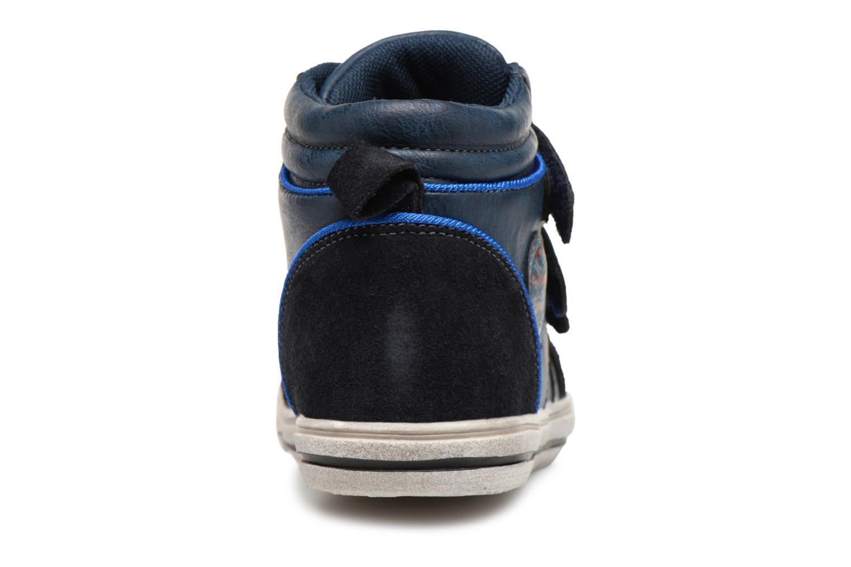 Sneaker Bopy Iboki Sk8 blau ansicht von rechts