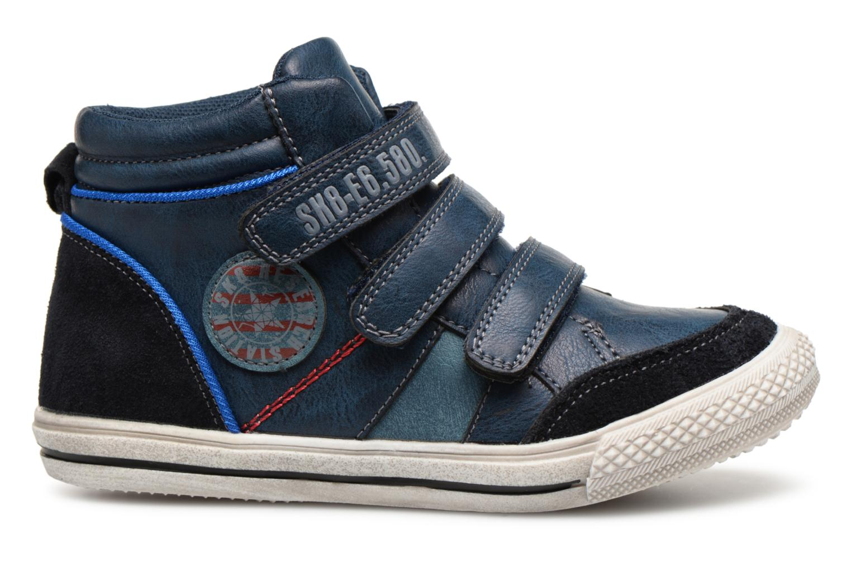 Sneaker Bopy Iboki Sk8 blau ansicht von hinten