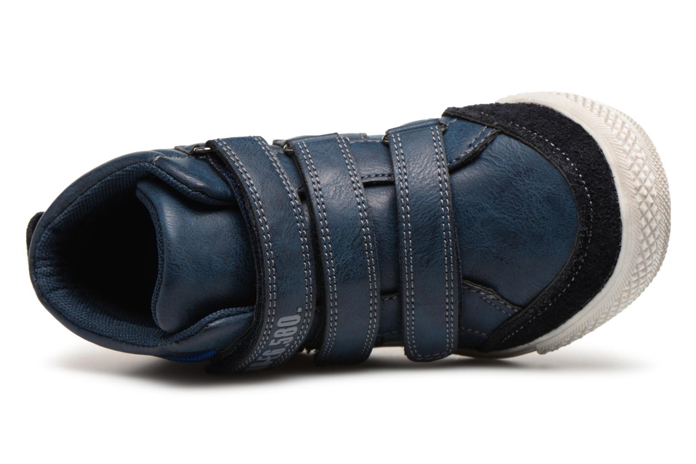 Sneaker Bopy Iboki Sk8 blau ansicht von links