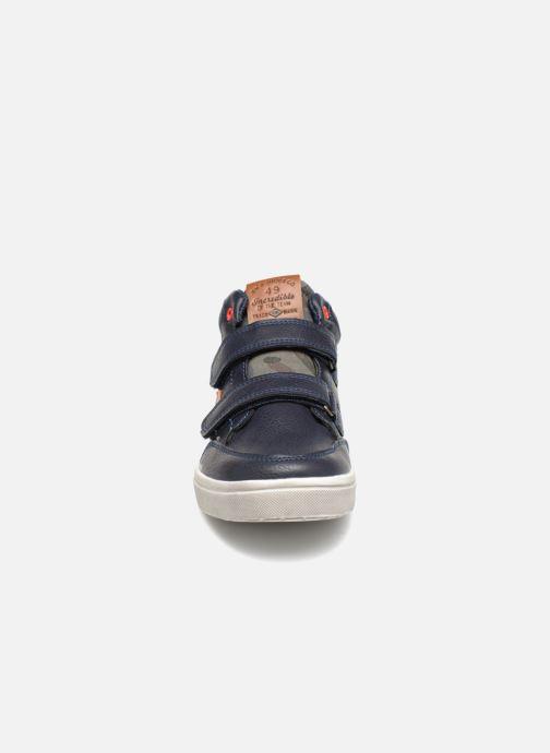 Baskets Bopy Tavalo Sk8 Bleu vue portées chaussures