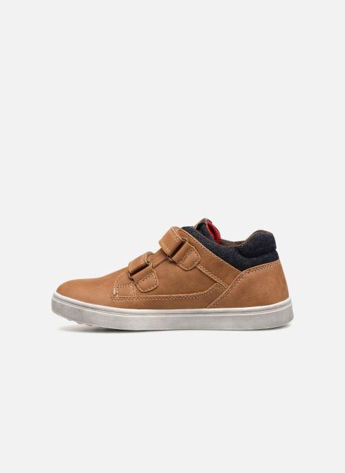 Sneakers Bopy Tassevel Sk8 Bruin voorkant