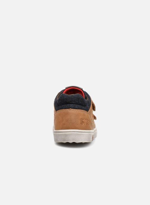 Sneakers Bopy Tassevel Sk8 Bruin rechts